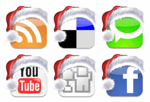 Natal nas redes sociais